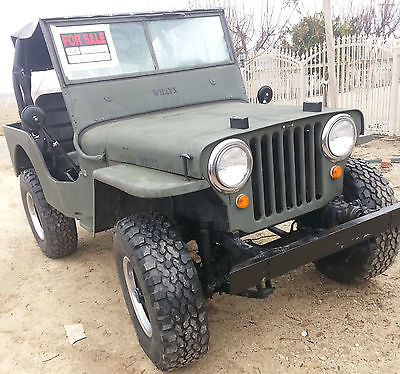 Willys : CJ2A willys cj2a