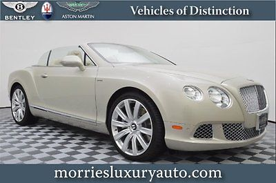Bentley : Continental GT GTC Convertible 2-Door 2013 used turbo 6 l w 12 48 v automatic awd convertible