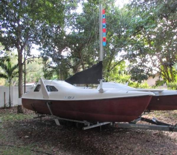 1987 Seawind 24 Catamaran
