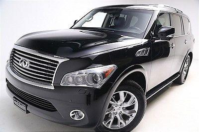 Infiniti : QX56 8-passenger WE FINANCE! 2012 Infiniti QX56 AWD Button Start Nav 8-passanger Dual Rear DVD
