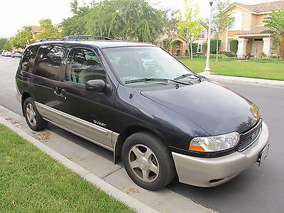 Nissan : Quest Nissan Quest 2000 SE 109,000 Miles First Owner Clean Title Mini Van