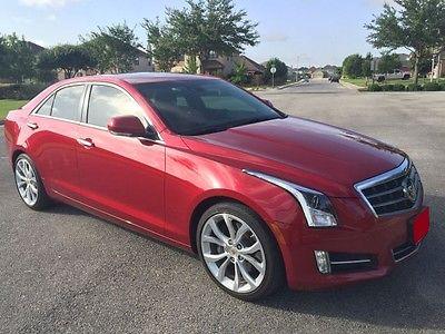 Cadillac : ATS Premium Sedan 4-Door 2013 cadillac ats 2.0 l turbo premium
