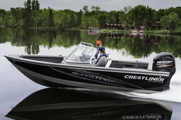 2015 Crestliner 1650 Super Hawk