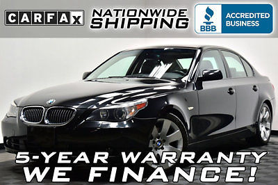 BMW : 5-Series 530i 67 k miles loaded sport premium nav leather sunroof multi contour
