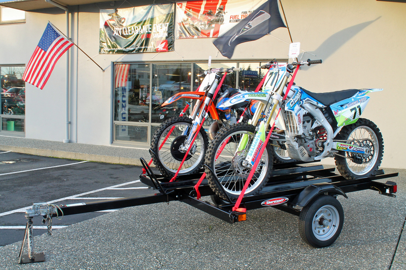3 Rail Motorcycle Trailer Motorcycles For Sale