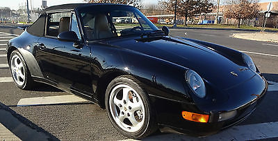 Porsche : 911 2dr Cabriolet Carrera 4 6-Speed Manual 1995 porsche 911 carrera 4 cabriolet low miles all original paint