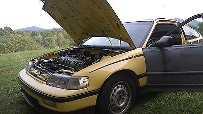 Honda : CRX 1989 crx si