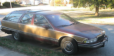 Buick : Roadmaster Wagon 1992 buick roadmaster estate wagon