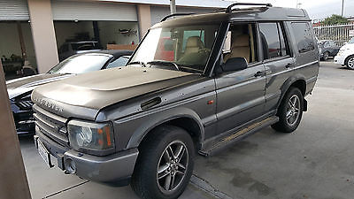 Land Rover : Discovery Series 2 1998 2005 discovery se parts good engine series 2 automatic 4.6 l v 8