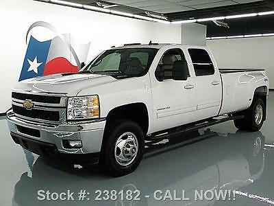 Chevrolet : Silverado 3500 HD LTZ 4X4 DIESEL NAV DVD 2011 chevy silverado 3500 hd ltz 4 x 4 diesel nav dvd 50 k 238182 texas direct auto