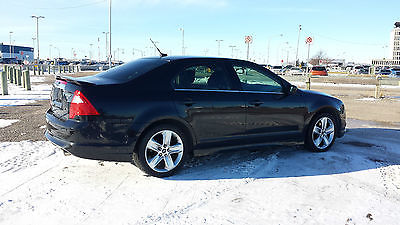 Ford : Fusion Sport AWD Clean Title Rare Black on Black 2010 ford fusion sport 3.5 l awd auto start touchscreen clean title private