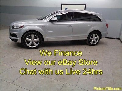 Audi : Q7 3.0T S line AWD GPS Navi Camera Pano Roof Heated Seats 12 q 7 s line awd 3.0 supercharged gps navi camera pano roof we finance texas