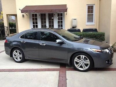 Acura : TSX Technology Package 2010 acura tsx v 6 w technology package gray 37 251 miles grey leather