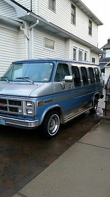 GMC Vandura G2500 1984 Gmc Chevrolet Conversion Van Low Miles