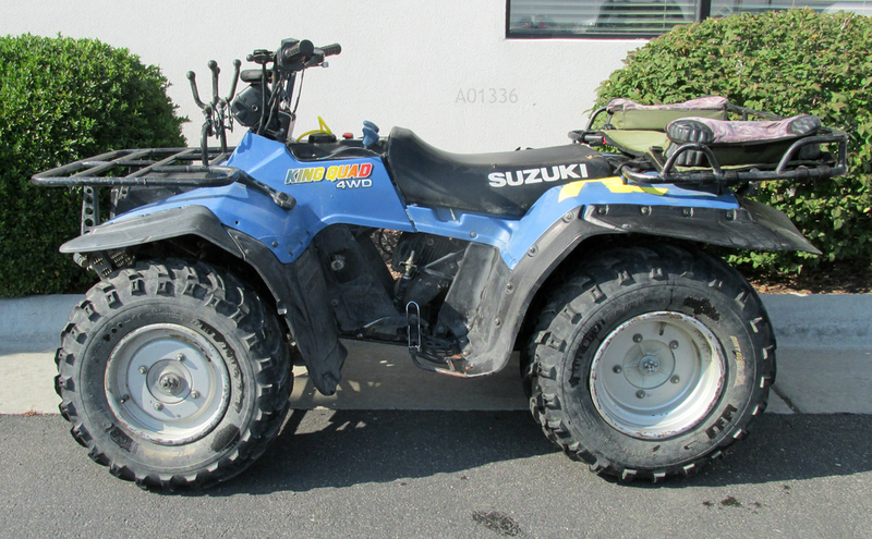 suzuki king quad 300 4x4 motorcycles for sale. Black Bedroom Furniture Sets. Home Design Ideas