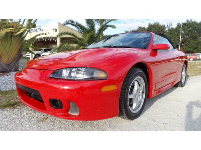 Mitsubishi : Eclipse 2dr Conv Spy Video Test Drive! Florida Car, 62k miles!!! leather interior, convertible, clean