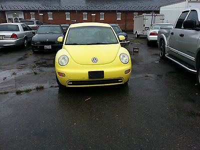 Volkswagen : Beetle-New GL 2000 volkswagen beetle new body style many new parts yellow automatic