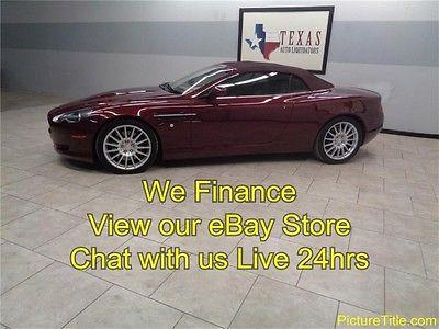 Aston Martin : Other Convertible 5.9L V12 GPS Navi 07 aston martin db 9 convertible 5.9 l v 12 gps navi wood trim we finance texas