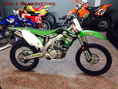 Kawasaki : KX 2013 kx 450 f extras 49 hp 248 lbs wow bank finance