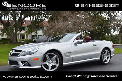 Mercedes benz sl class cars for sale in sarasota florida for 2009 mercedes benz sl550 silver arrow for sale