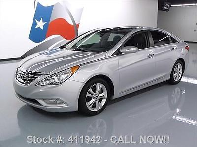 Hyundai : Sonata LTD HTD LEATHER DUAL SUNROOF 2012 hyundai sonata ltd htd leather dual sunroof 26 k mi 411942 texas direct