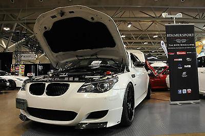 BMW : M5 M5 2008 m 5 6 spd ess vt 2 650 supercharger kw variant 3 coilover 20 bbs ch black