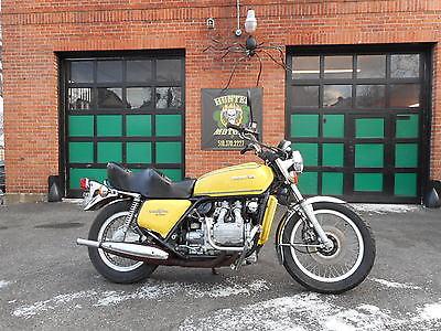 Honda : Gold Wing 1976 honda gl 1000 goldwing 6 494 actual miles original factory condition