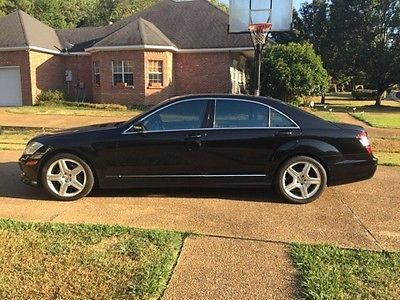 Mercedes-Benz : S-Class AMG 2007 mercedes benz s 550 amg p 2 package