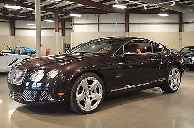 Bentley : Continental GT 2013 bentley continental gt 6.0 l
