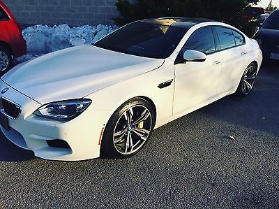 BMW : M6 GranCoupe 2014 bmw m 6 grancoupe fully loaded carbon package carbon ceramic brakes