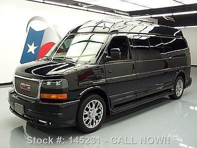 GMC : Savana 2500 SOUTHERN COMFORT ELITE NAV DVD 2012 gmc savana 2500 southern comfort elite nav dvd 29 k 145231 texas direct