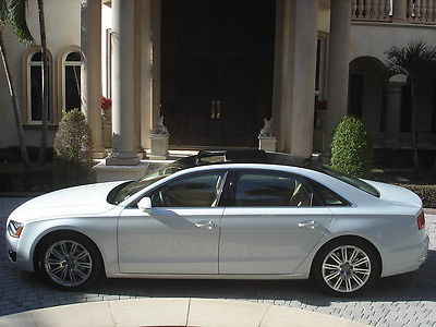 Audi : A8 A8 Long FLORIDA,V-8,QUATTRO,4.0 LONG, WARRANTY,ONE OWNER,,LOADED,L@@K