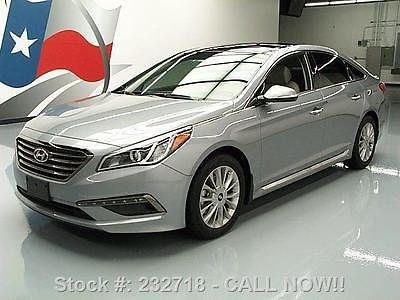 Hyundai : Sonata LIMITED PANO ROOF NAV REAR CAM 2015 hyundai sonata limited pano roof nav rear cam 5 k 232718 texas direct auto