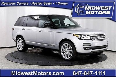 Land Rover : Range Rover Supercharged 2015 land rover range rover supercharged long wheel base vision assist