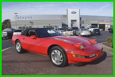 Chevrolet : Corvette Base Convertible 2-Door 1994 used 5.7 l v 8 16 v manual rwd convertible