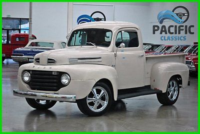 Ford : Other 1950 ford f 1 lincoln 430 v 8 tri power top loader 4 speed