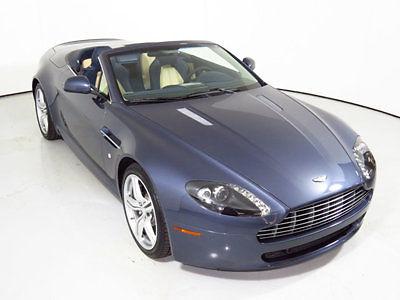 Aston Martin : Vantage 2dr Convertible Sportshift 2010 aston martin vantage convertible only 263 miles real barn find