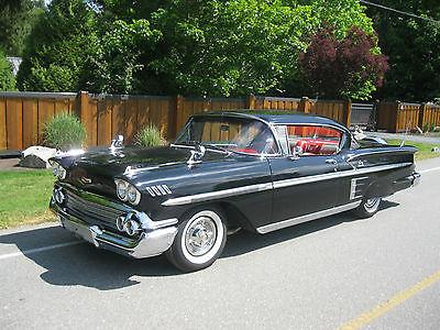 Chevrolet : Impala Impala 2 Door Sport Coupe 1958 chevrolet impala 2 door hardtop sport coupe