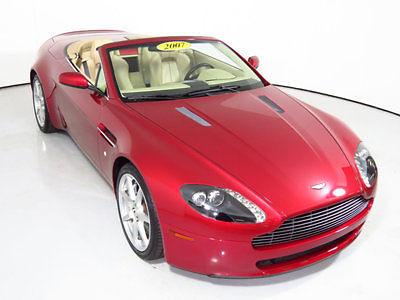 Aston Martin : Vantage 2dr Convertible Manual 2007 aston martin vantage convertible super clean