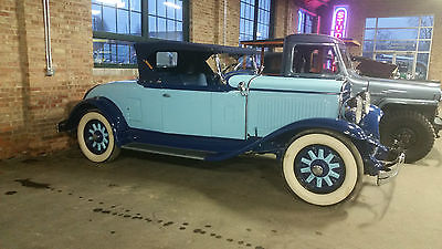 Chrysler : Other 1928 CHRYSLER ROADSTER MODEL 75 1928 chrysler model 75