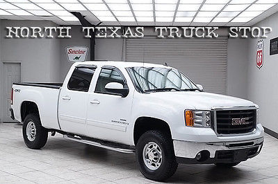 GMC : Sierra 2500 Duramax 6.6L SLT Heated Leather Crew 2008 sierra 2500 hd diesel 4 x 4 slt heated leather crew texas truck