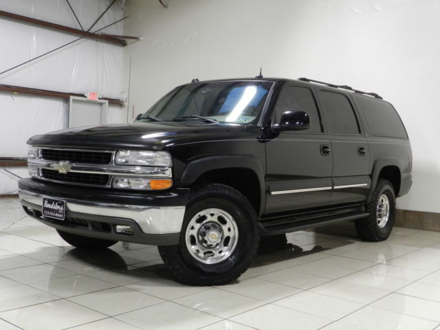 Chevrolet : Other 4dr 2500 Com HARD TO FIND CHEVROLET SUBURBAN 2500 LT AUTORIDE 2WD 8.1L TV/DVD 3RD ROW ON STAR