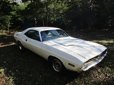 Dodge : Challenger coupe 1971 dodge challenger 383 auto