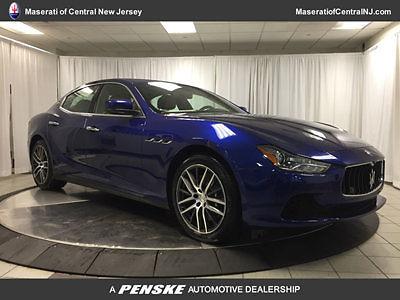 Maserati : Ghibli 4dr Sedan S Q4 4 dr sedan s q 4 new automatic gasoline 3.0 l v 6 cyl blue emozione mica