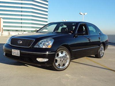 Lexus : LS Lexus LS430 Luxury Sedan 2003 lexus ls 430 one owner super low mileage 67 k luxury sedan clean carfax