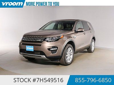 Land Rover : Discovery HSE Certified 2016 3K MILES 1 OWNER NAV PANOROOF 2016 land rover discovery 3 k mile nav panoroof vent seats usb 1 owner cln carfax