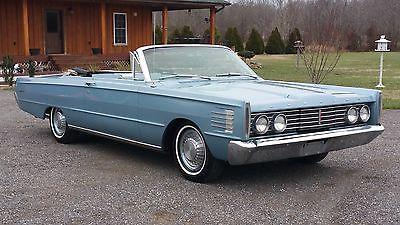 Mercury : Monterey MONTEREY CONVERTIBLE 1965 mercury monterey convertible 390 motor auto trans beautiful full size vert