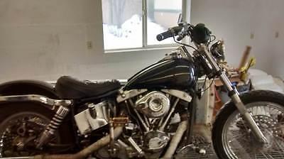Harley-Davidson : Other 1974 harley davidson lowrider shovelhead 1200 cc new wheels and tires s s carb