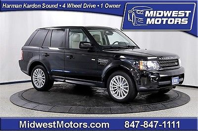 Land Rover : Range Rover Sport HSE 2012 land rover range rover sport hse nav climate comfort pkg 1 owner 4 wd