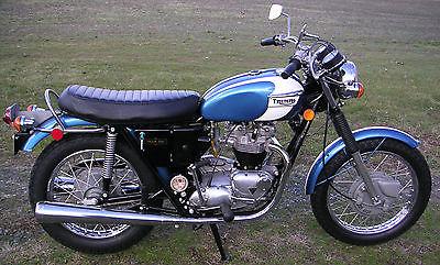 Triumph : Tiger 1972 triumph tr 6 r tiger